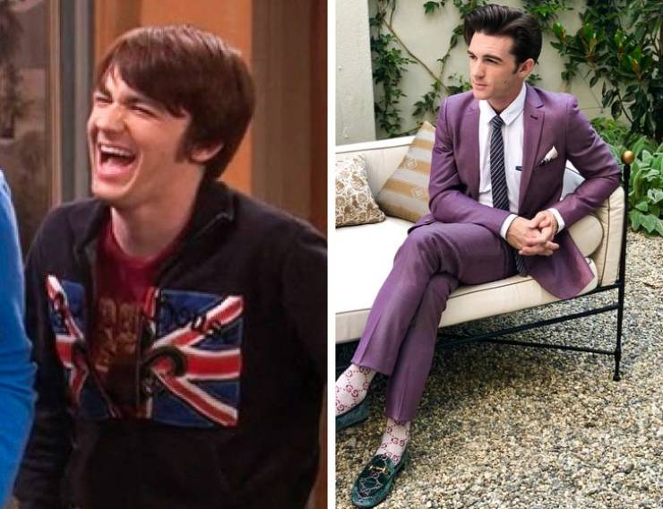 Nickelodeon And Disney Show Characters Then And Now