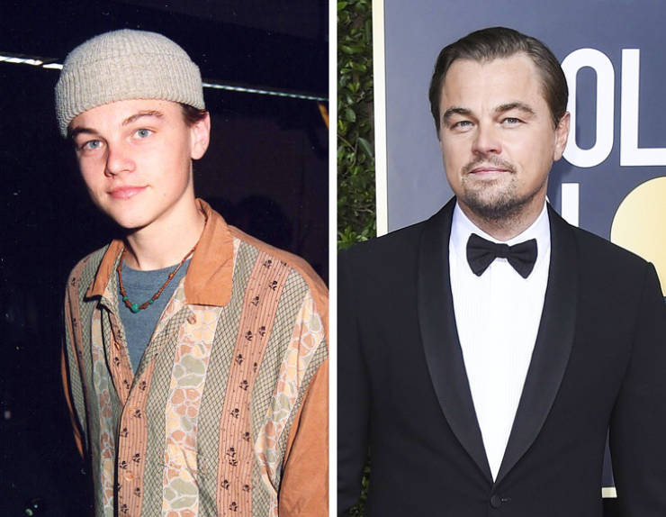 Celebs Back When They First Stepped On The Red Carpet And Now