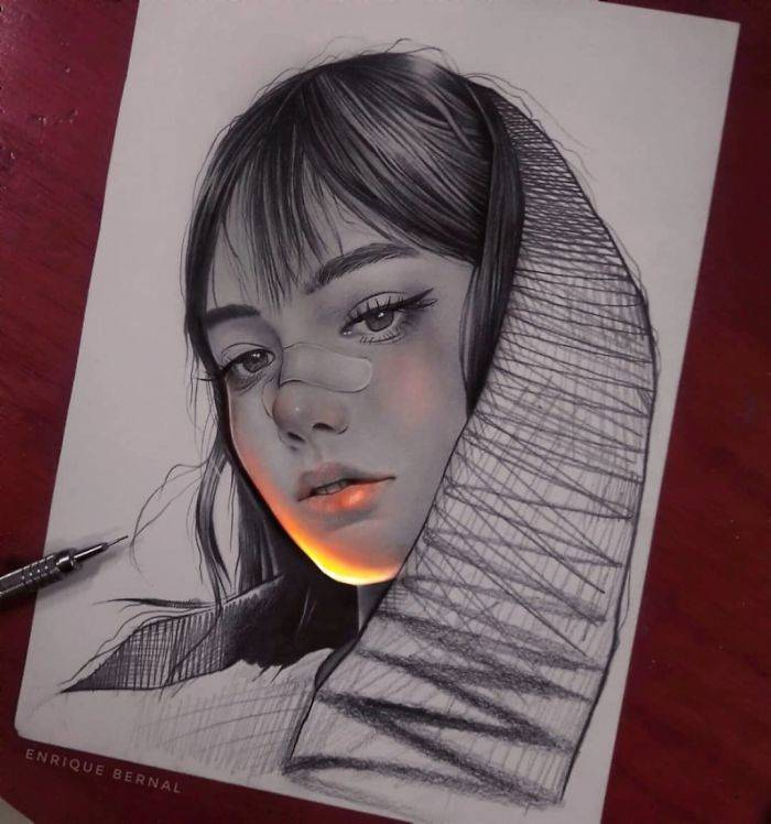 This Mexican Artist's Works Glow!