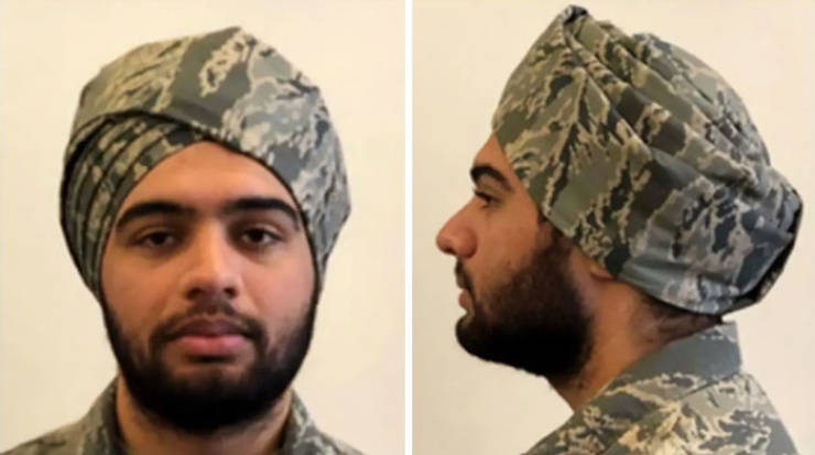Beards, Turbans And Hijabs Are Now Included Into US Air Force Dress Code