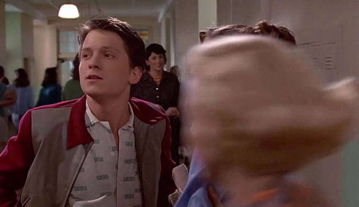 "If Robert Downey Jr. And Tom Holland Were In ""Back To The Future"""