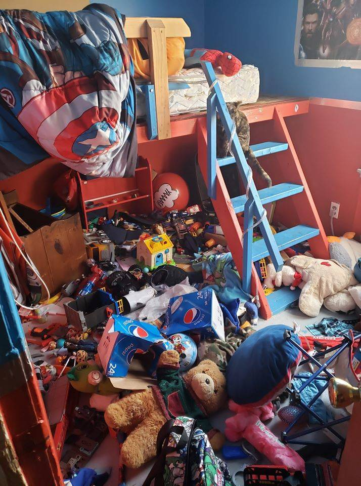Kids Can Be Very, VERY Messy…