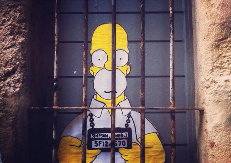 These Pop Culture Characters Are One With The Streets!