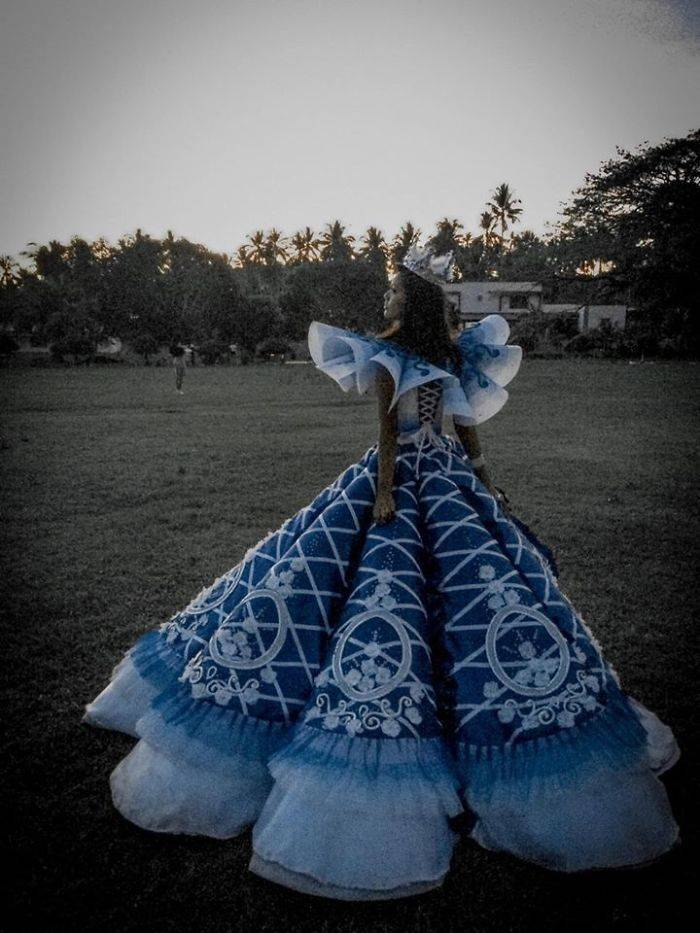 Family Can Not Afford A Prom Dress For Their Daughter, Brother Just Makes A Unique One