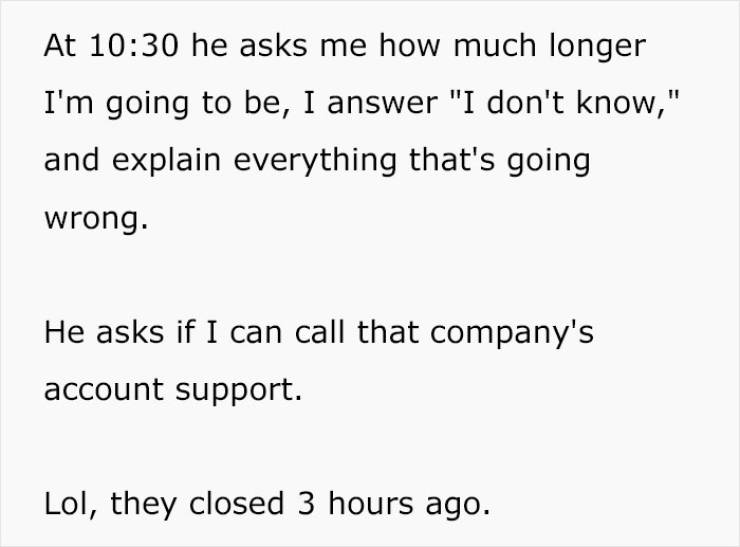 Manager Wants Employee To Work Overtime, Gets A Lesson