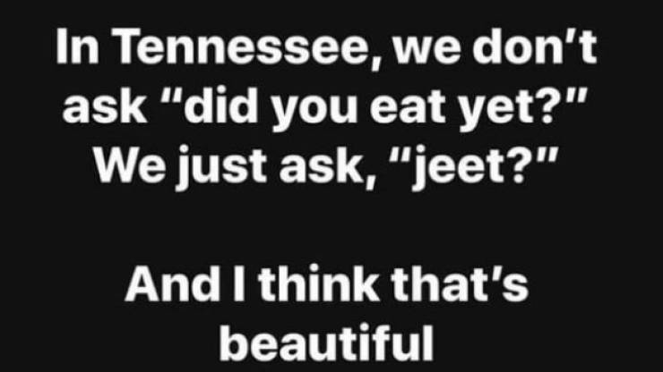 Southern Americans Know…