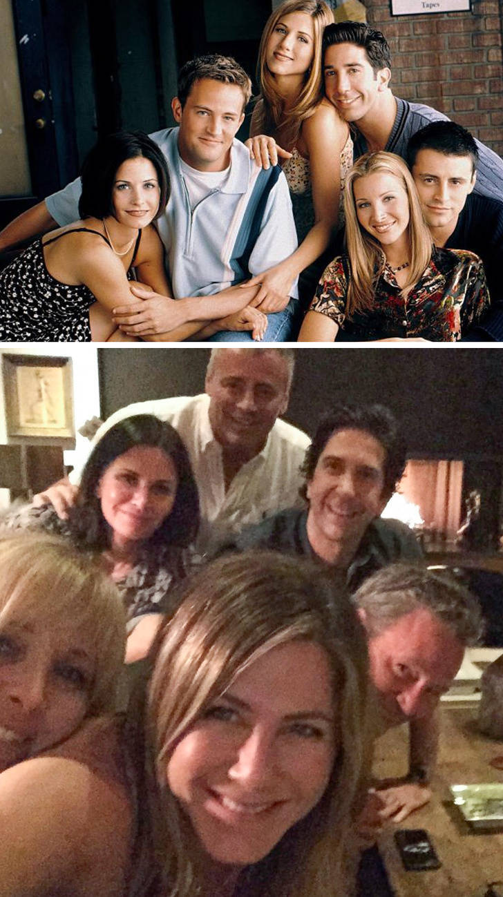 Celebrity Reunions Are Great For Every Fan!