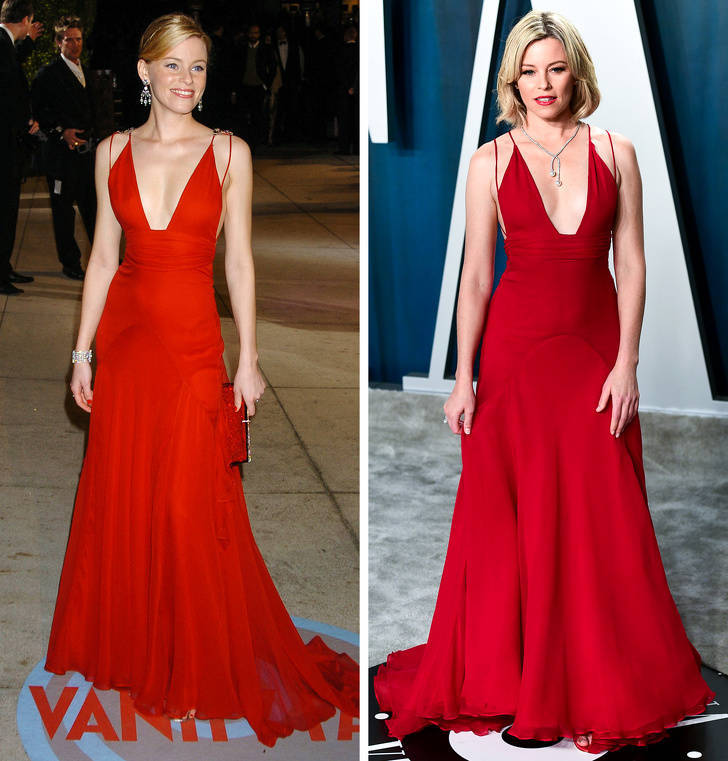 Celebs Who Didn't Give Up On Their Red Carpet Dresses