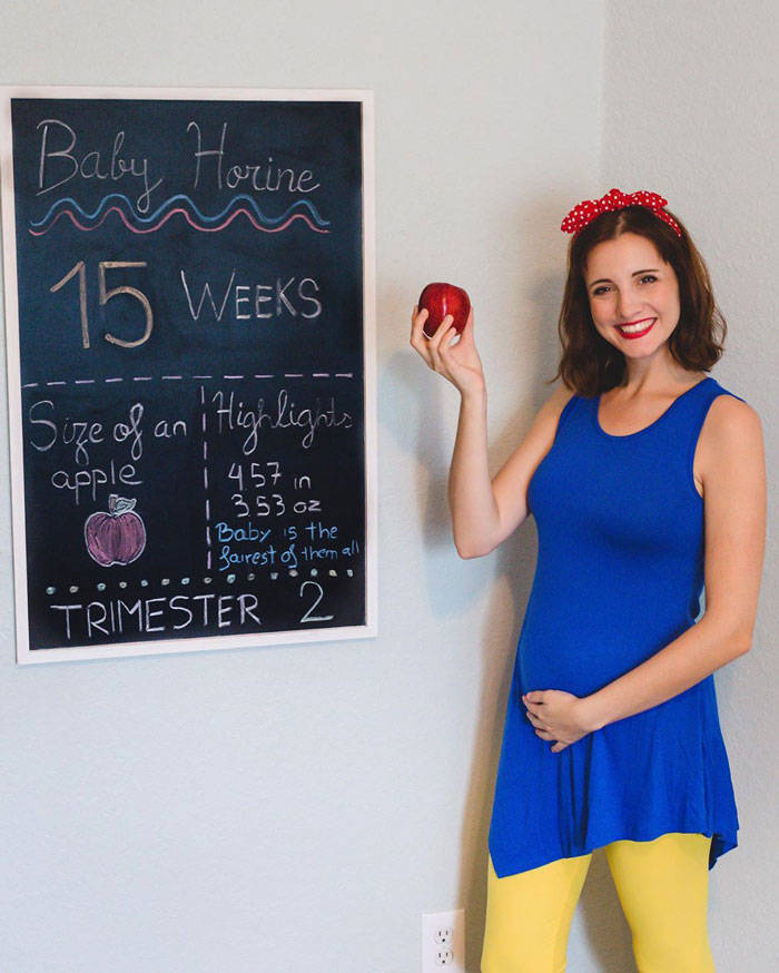For Every Week Of Her Pregnancy, This Woman Has A New Costume