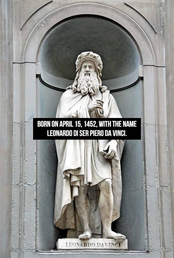 These Leonardo Da Vinci Facts Are Not Invented!