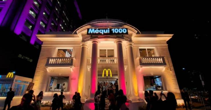 These McDonald's Look… Surreal