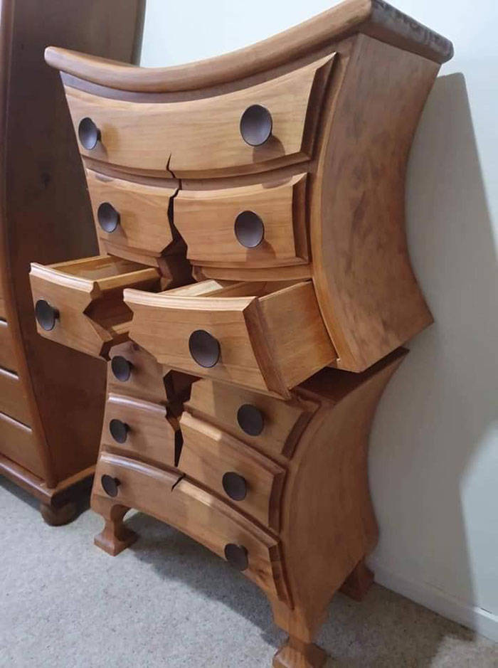 Retired Woodworker Creates Surreal Furniture From Fairy Tales