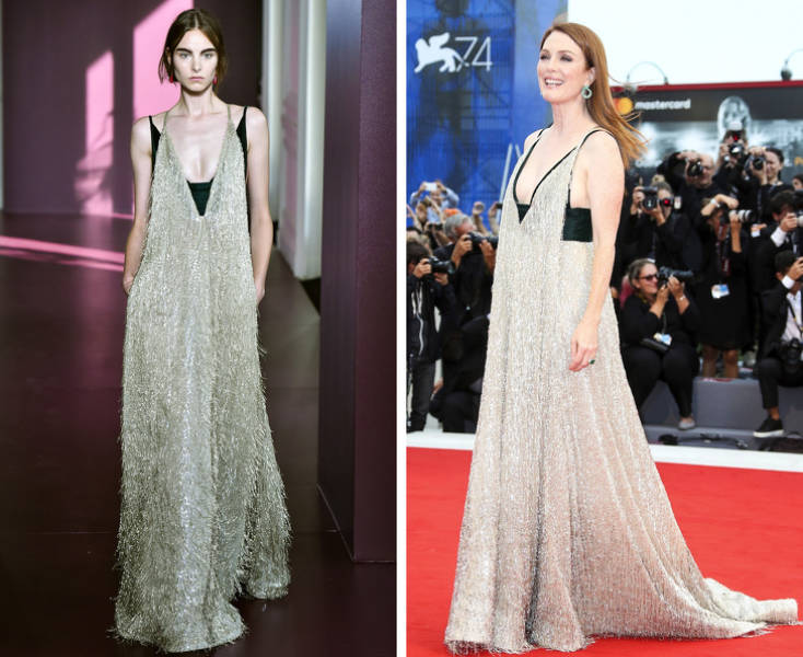 Celebrities And Models Look Very Different In Same Outfits…