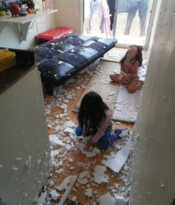 Kids Gonna Destroy Everything Around Them!