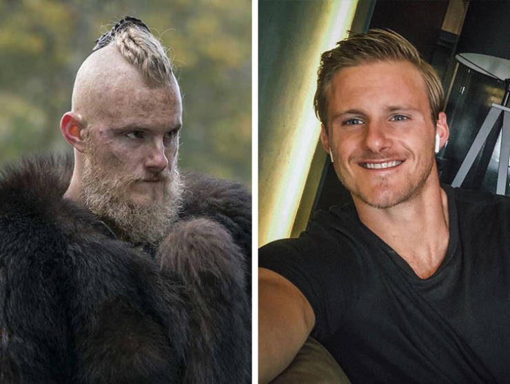 """Vikings"" Actors And Actresses In Real Life"