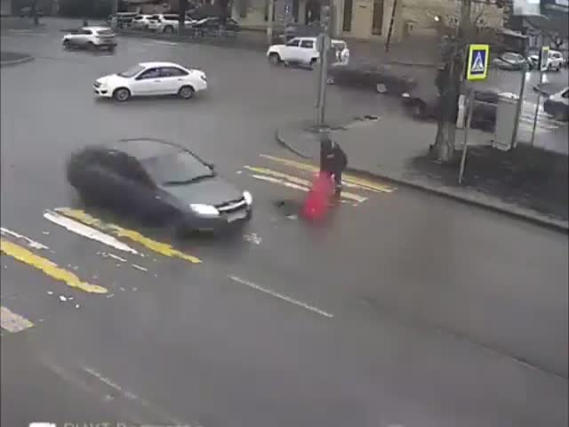 Fixing A Pothole In Russia…
