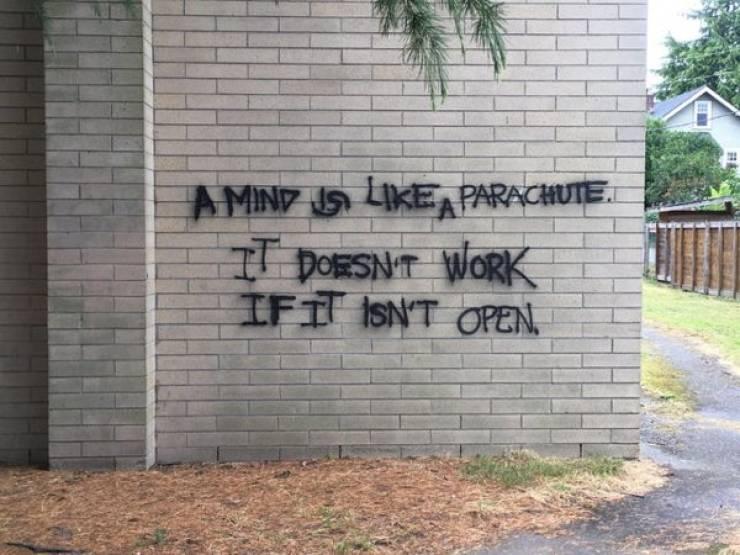 Okay, This Vandalism Is Actually Good!