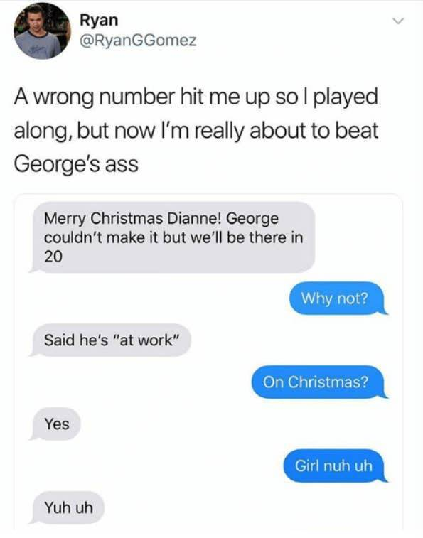 Those Wrong Number Texts Are Pretty Chaotic…