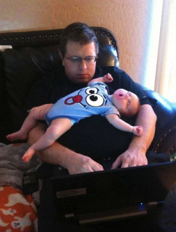 Dads Who Were Born To Be Dads