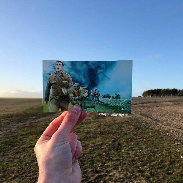 Iconic Movie Scenes Combined With Their Real-Life Locations