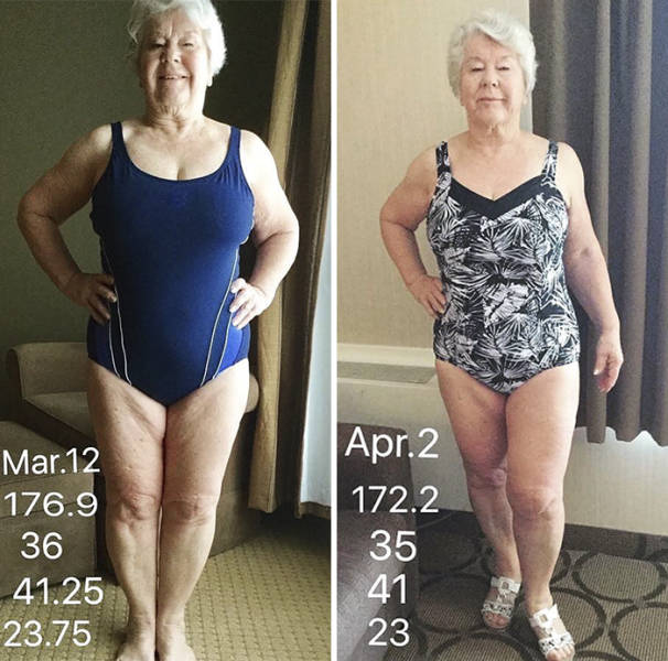 73-Year-Old Granny Loses Over 20 Kilos Inspired By Her Daughter, Gets Her Health Stabilized