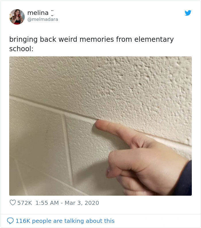 And You Thought These Elementary School Things Will Be Forgotten…