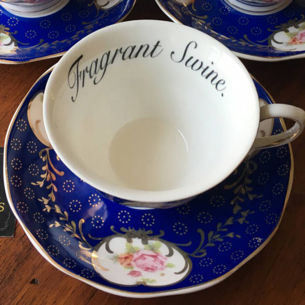 Wanna Insult Your Guests? Do It With These Tea Cups!