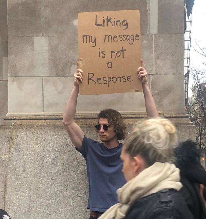 """""""Dude With A Sign"""" Just Loves Protesting…"""