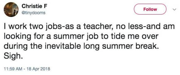 Teachers Are Just Too Rich And Too Lazy…