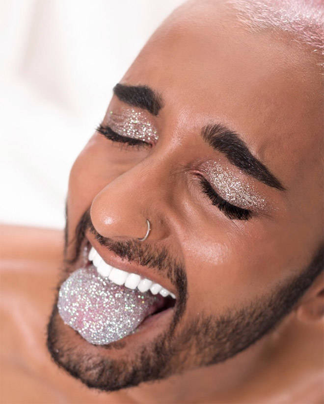 Is Glitter Really That Tasty?