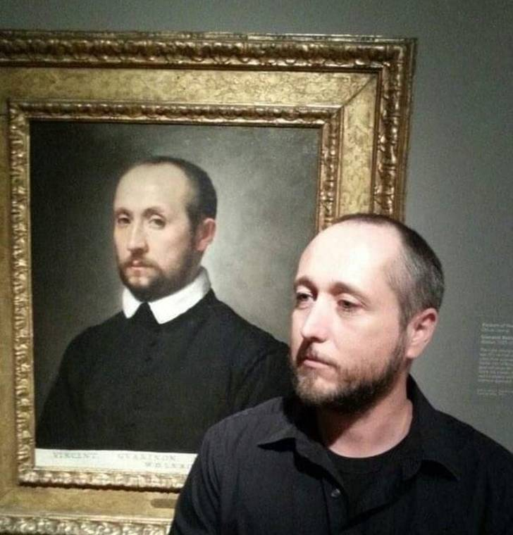 Oh, An Unexpected Doppelganger!
