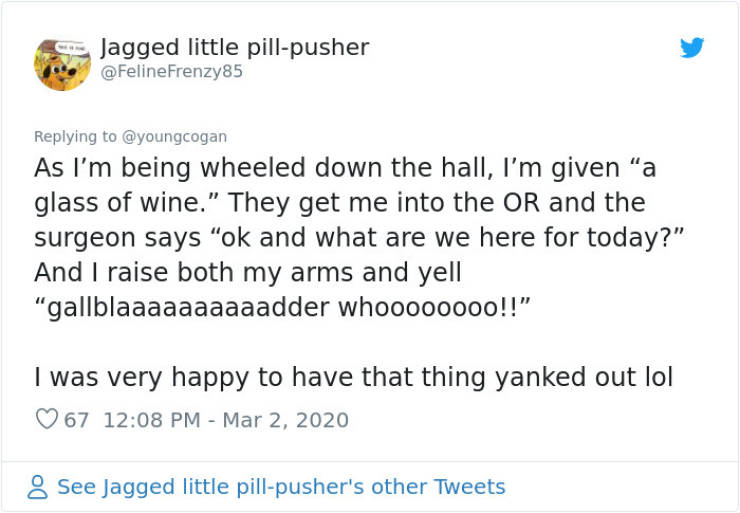 People Didn't Expect Anesthesia To Kick In That Fast…