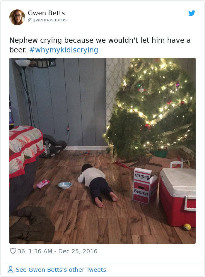 Kids Don't Need A Good Reason To Cry