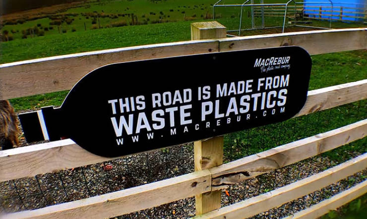 These Roads Are Made Of Plastic Waste!