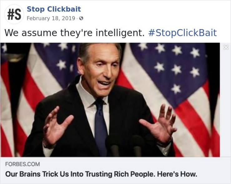 """Stop Clickbait"" Saves Tons Of Our Time And Clicks!"
