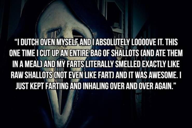 Beware! Disgusting Habits!