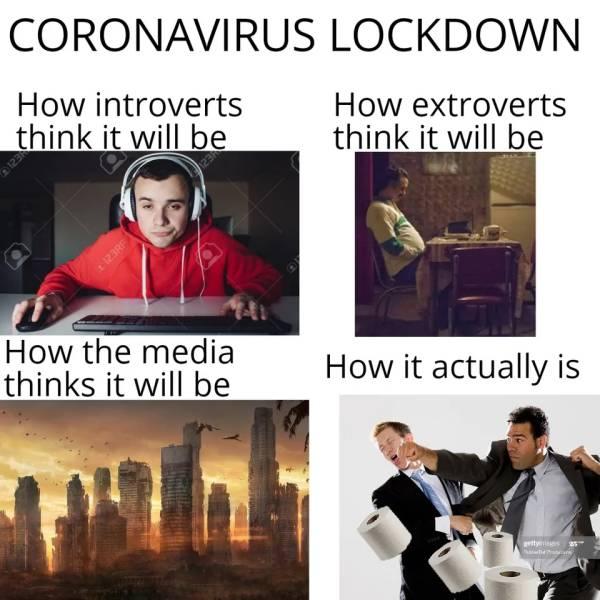 Coronavirus Quarantine Is Funny… For Some People