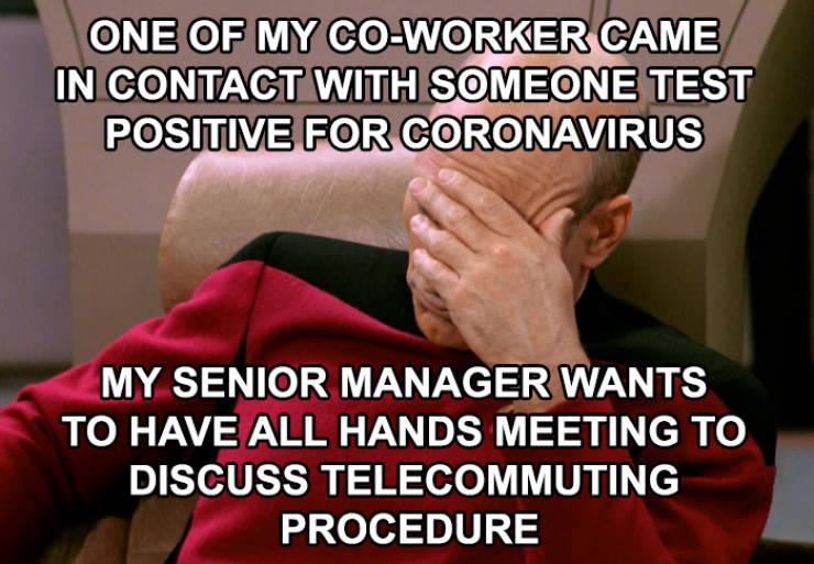Let Coronavirus Jerk Shaming Commence!