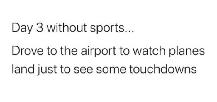 Sports – Gone, Memes – Not
