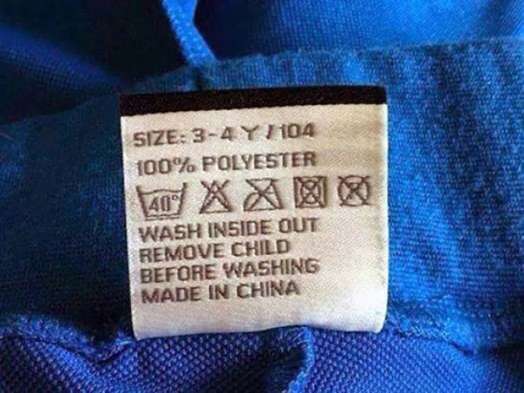 These Funny Clothing Tags Fit Perfectly