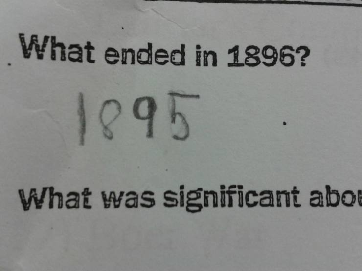 Kids Always Come Up With The Best Answers!