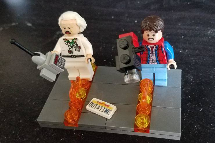 Let's Go! It's Time For LEGO!