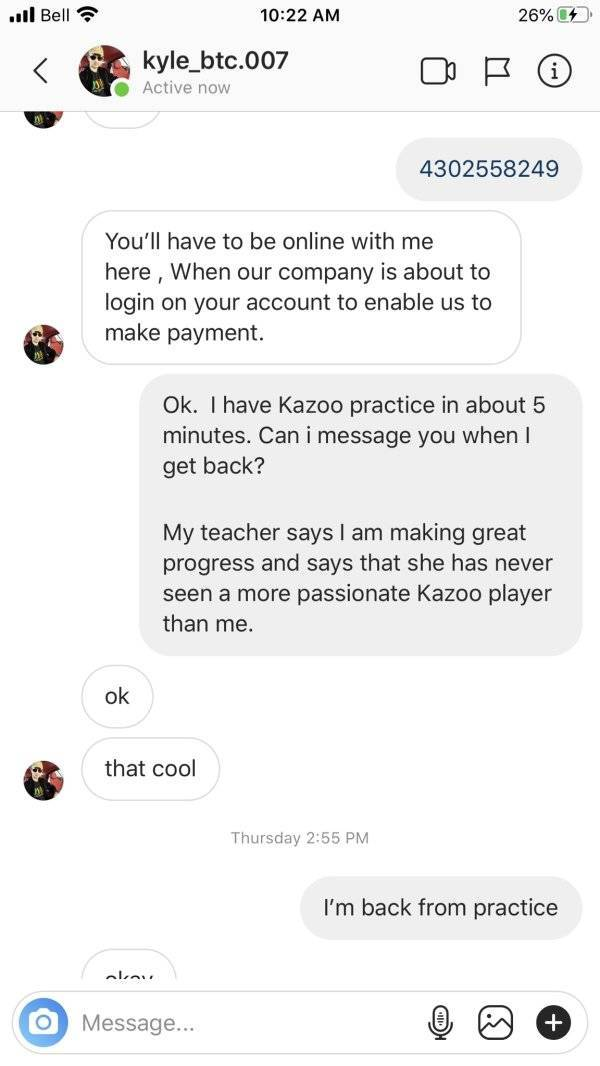 Scammer Has No Idea He's Being Messed With