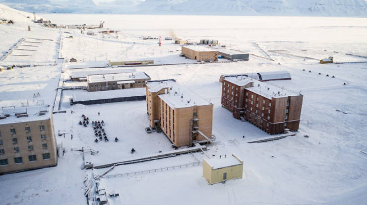 Take A Look At This Abandoned Russian Settlement In Norway