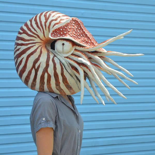 Don't Be Afraid, These Are Just Papier-Mâché Masks…