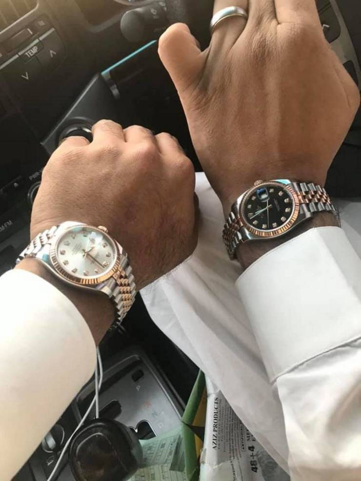 Expensive Watch Owners Can't Live Without Taking Photos Of Them