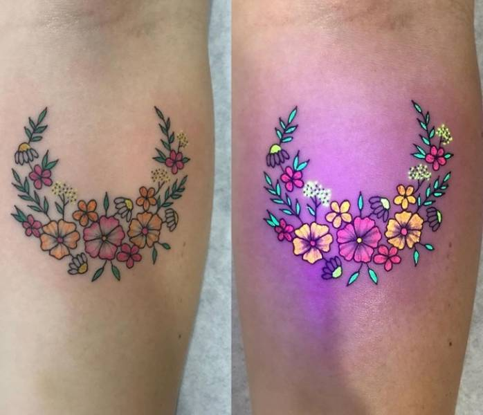 These Tattoos Are Alive And Glowing!