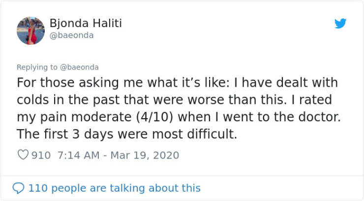 22-Year-Old Coronavirus-Positive Girl Shares Her Experience