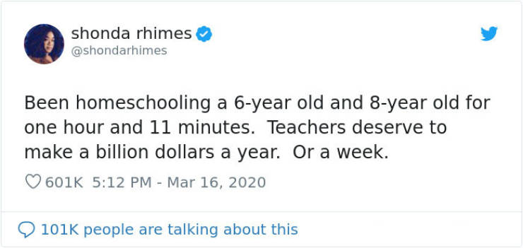Parents Who Try To Homeschool Their Children During Quarantine Are Starting To Understand Teachers…