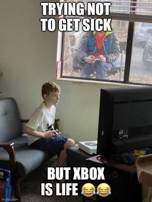 Gamers Were Prepared!